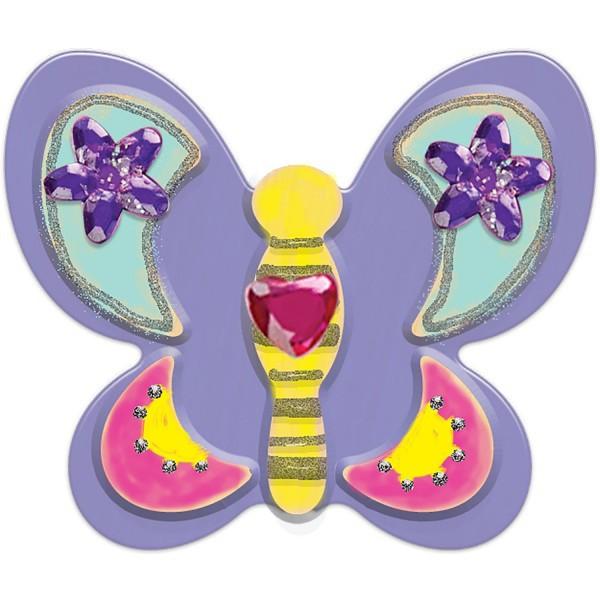 Set Creatie Fluturasi Din Lemn Magnetici