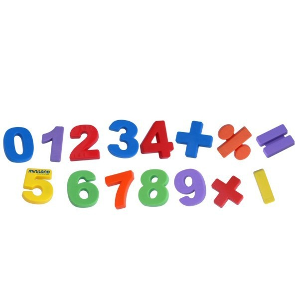 Set 54 Numere Magnetice Miniland