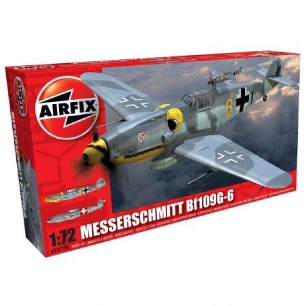Avion Messerschmitt Bf109g-6 Scara 1:72