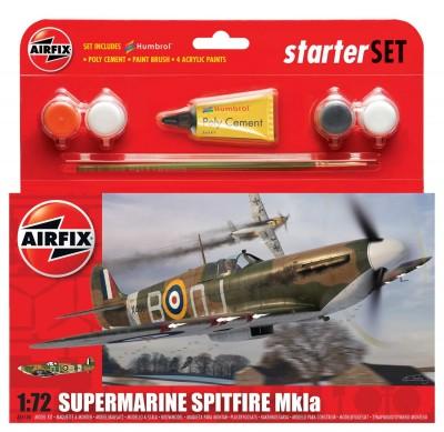 Kit Constructie Avion Supermarine Spitfire Mkia