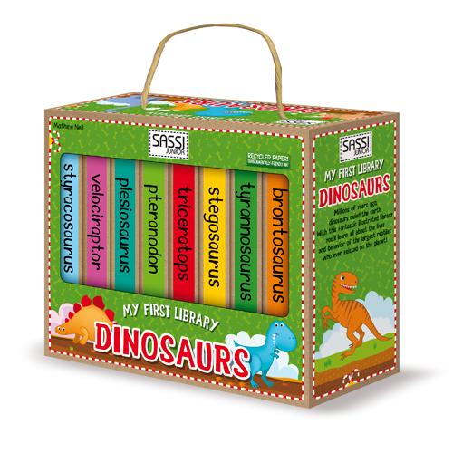 Prima Mea Biblioteca - Dinozauri