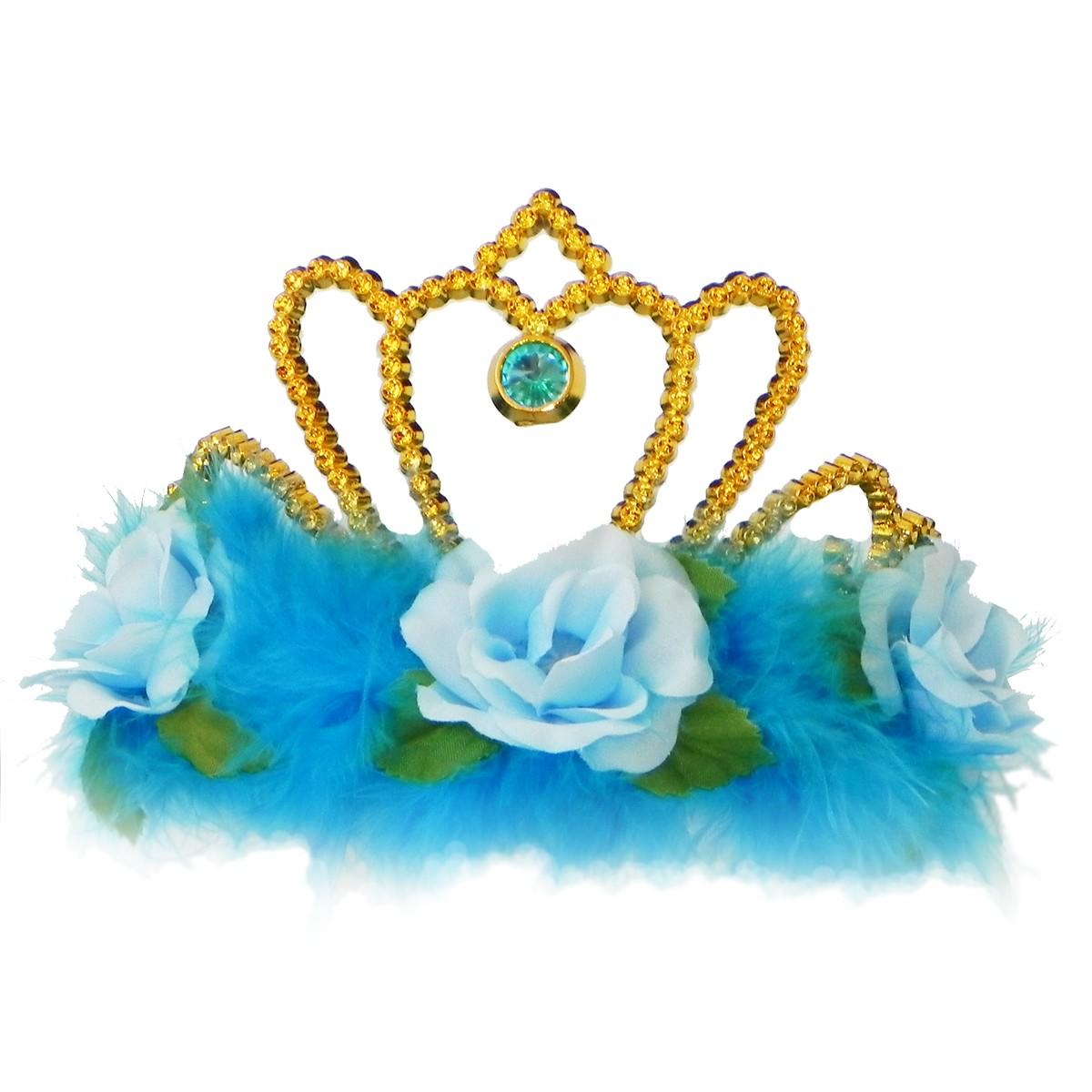 Accesoriu Deghizare Coroana Blue Rose imagine