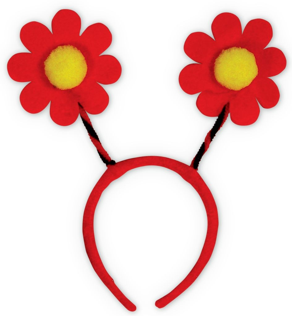 Accesoriu Deghizare Floare Rosie imagine