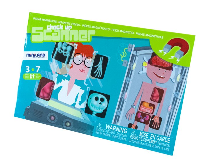 Joc Magnetic Descopera Corpul Uman - Miniland