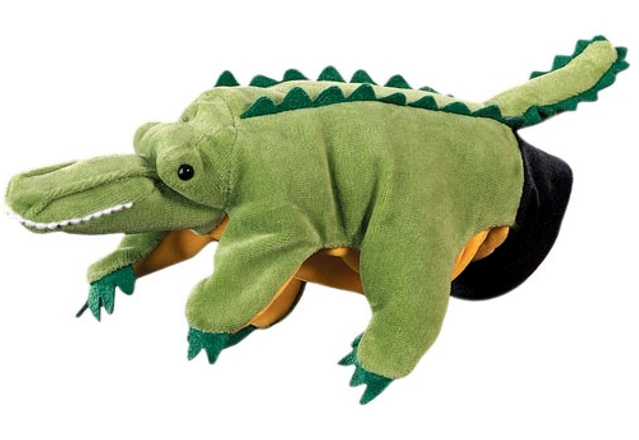 Papusa De Mana Crocodil