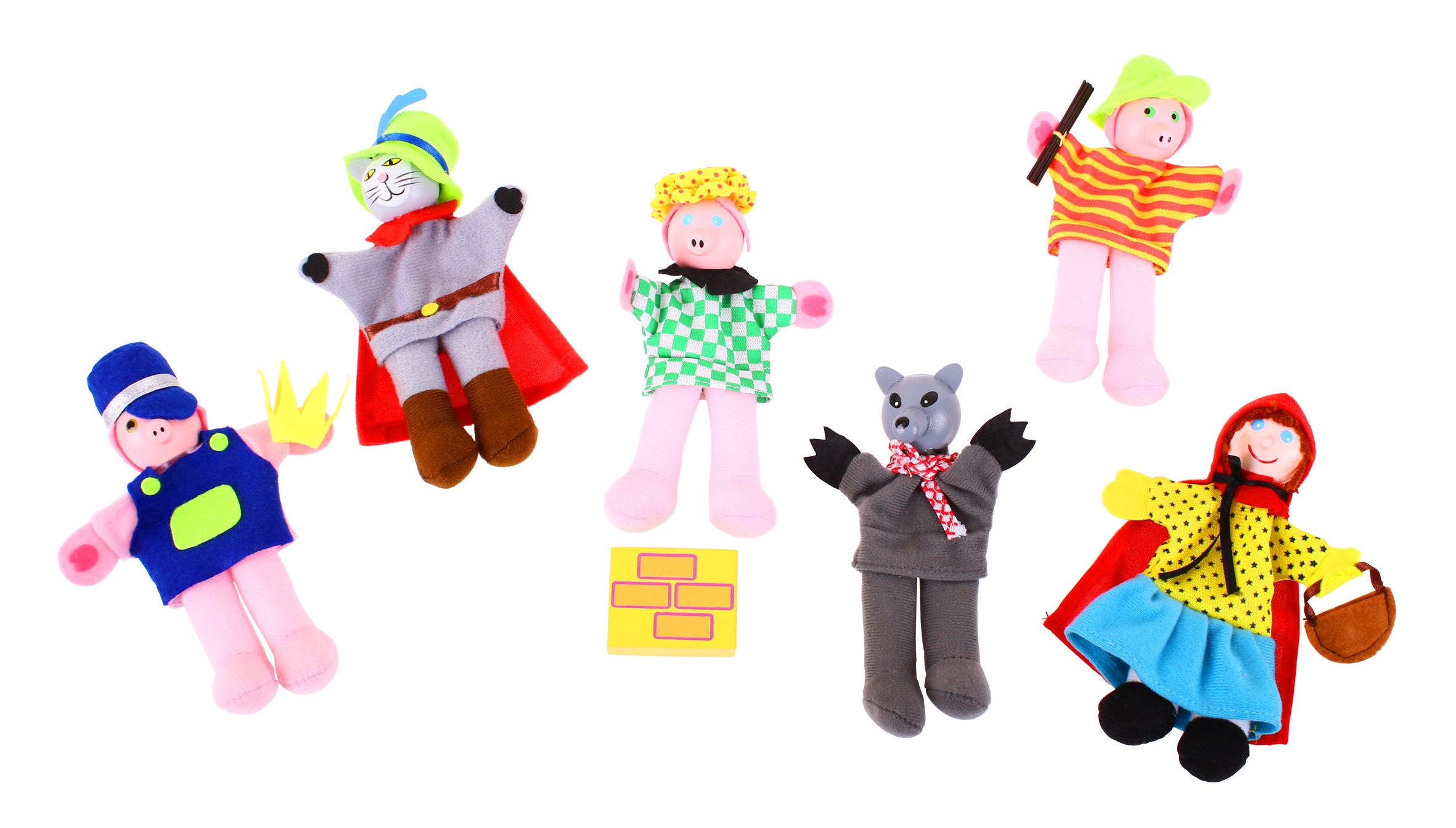Set Papusi Degetar - Povestile Copilariei