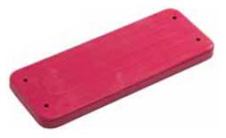 Sezut Plastic Pentru Leagan - Traditional Rosu imagine