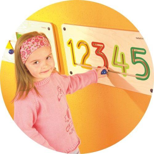 Aplicatie De Perete Numere 6-9 imagine