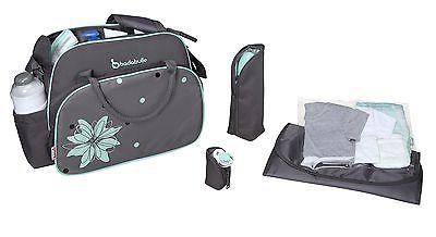 Badabulle–b043014–geanta Pentru Scutece Vintage Grey/blue