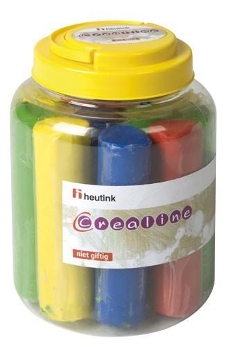 Set 12 batoane plastilina colorata - Heutink