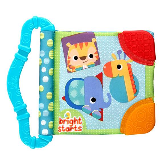 Bright Starts-8475a Jucaria Rontaie Si Invata Teethe&read Albastru
