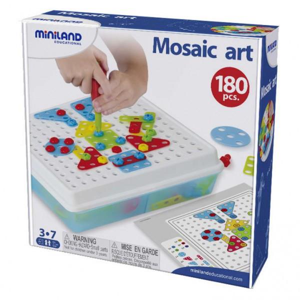 Joc Constructii Mosaic Art Miniland