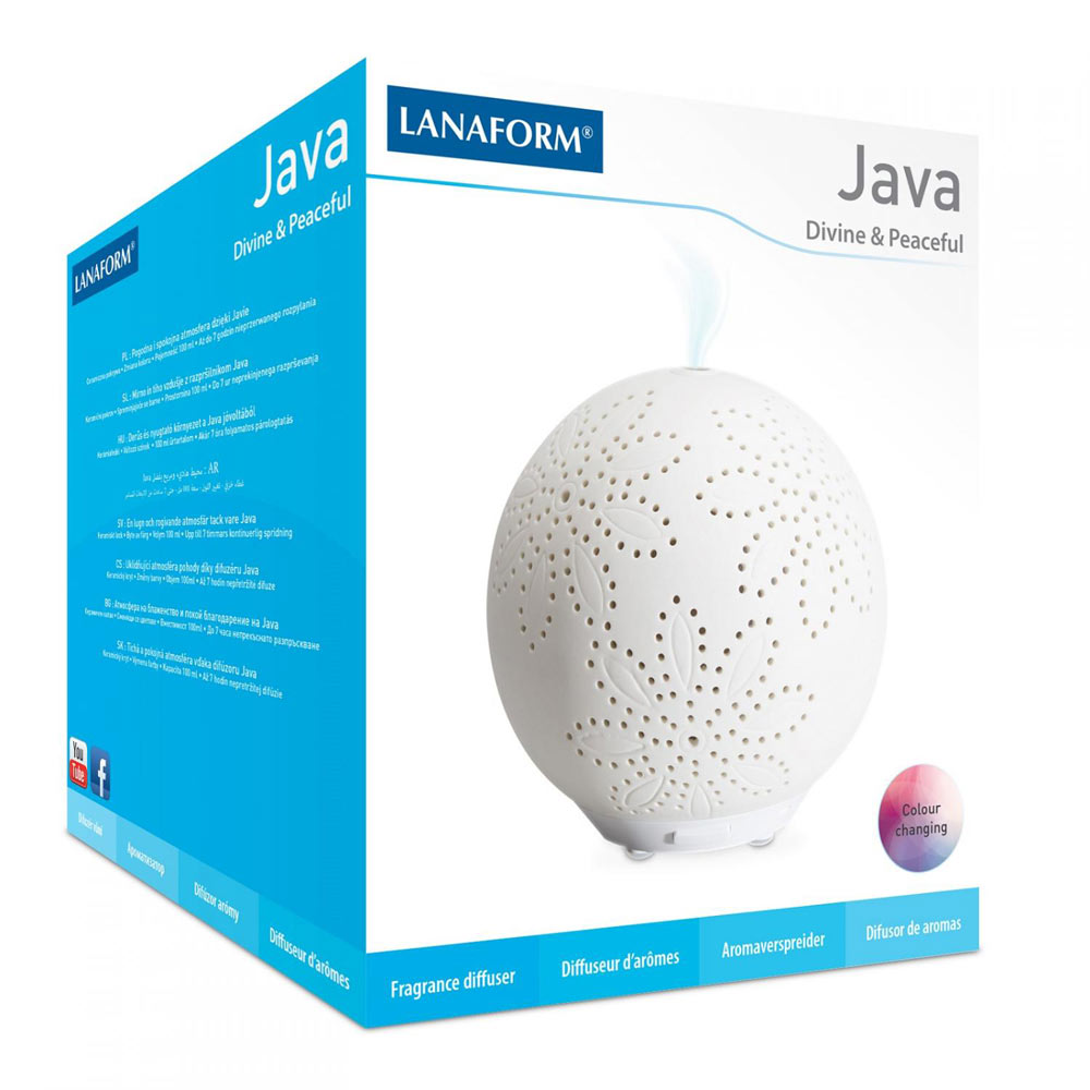 Difuzor De Aromaterapie Java Lanaform imagine