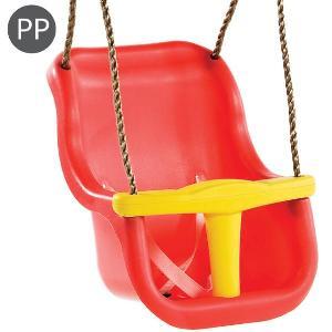 Leagan Baby Seat Luxe Culoare: Rosu/galben, Franghie: Pp 10 imagine