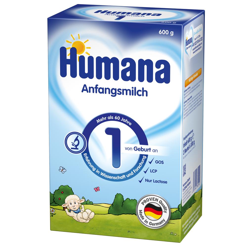 Imagine indisponibila pentru Lapte Praf Humana 1 De La Nastere 600 G
