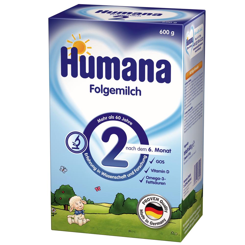 Imagine indisponibila pentru Lapte Praf Humana 2 De La 6 Luni 600 G