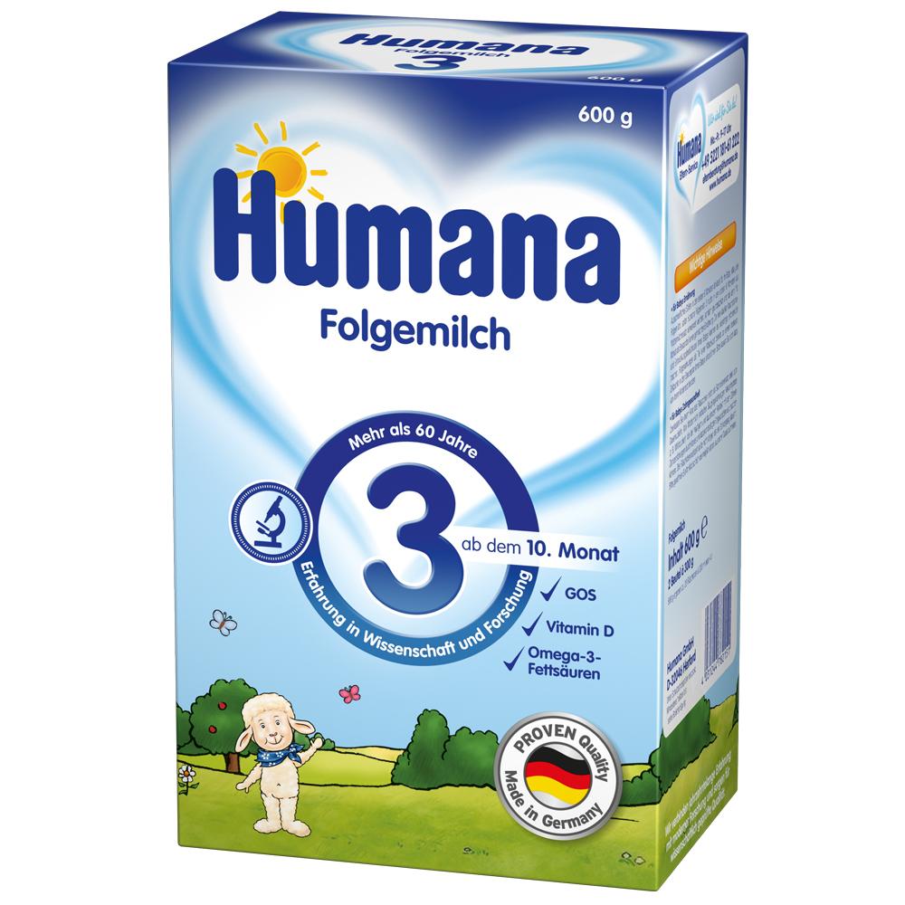 Imagine indisponibila pentru Lapte Praf Humana 3 De La 10 Luni 600 G