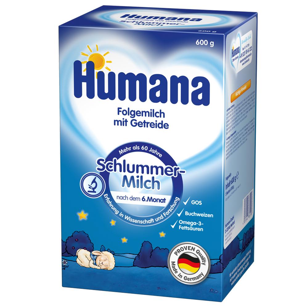 Imagine indisponibila pentru Lapte Praf Humana De Noapte Cu Cereale De La 6 Luni 600 G
