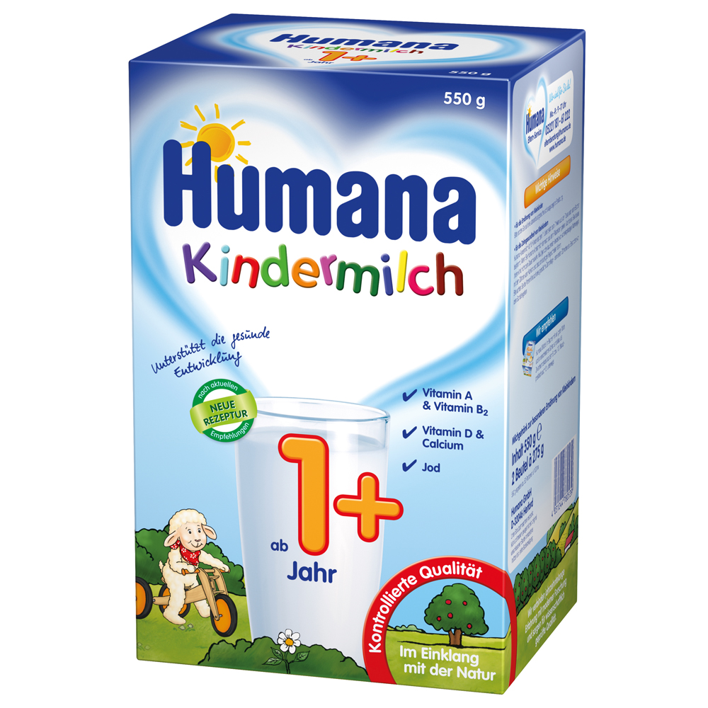 Imagine indisponibila pentru Lapte Praf Humana Kindermilch 1 De La 1 An 550 G