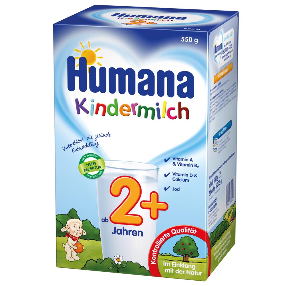 Imagine indisponibila pentru Lapte Praf Humana Kindermilch 2 De La 2 Ani 550 G