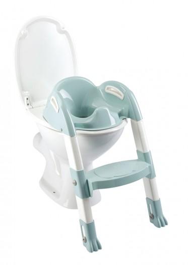 Reductor Pentru Toaleta Cu Scarita Kiddyloo Celadon Green