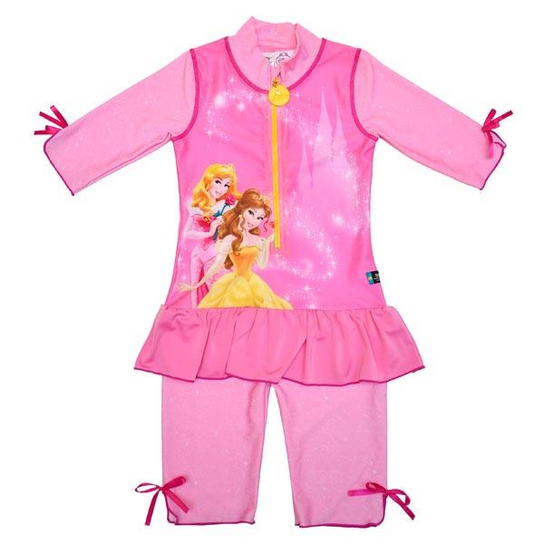 Costum De Baie Princess Marime 98-104 Protectie Uv Swimpy imagine