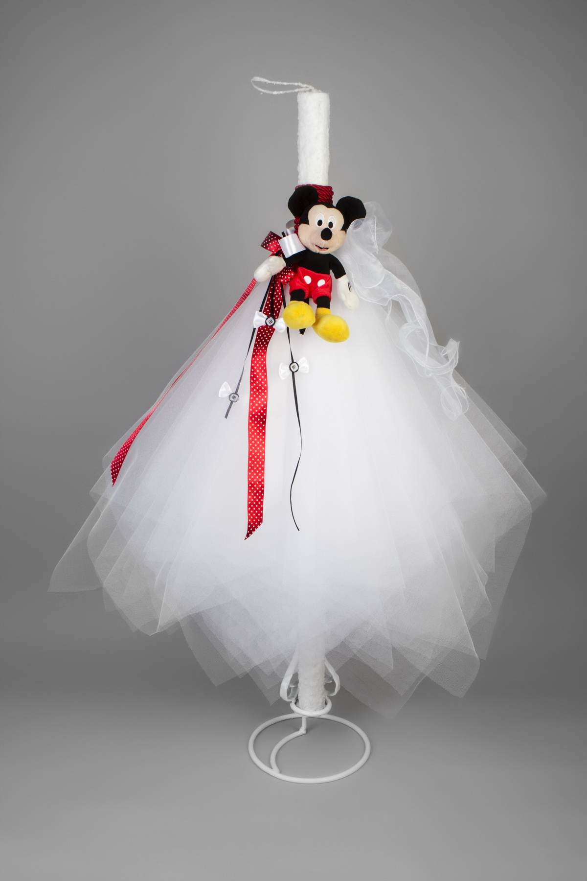 Lumanare Botez Mickey Mouse