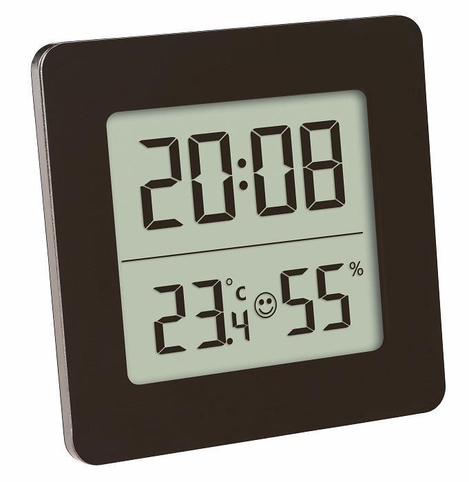 Termometru Si Higrometru Digital Cu Ceas Si Alarma Tfa 30.5038.01 imagine