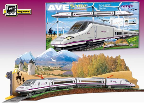 Trenulet Electric Calatori Renfe Ave S-102