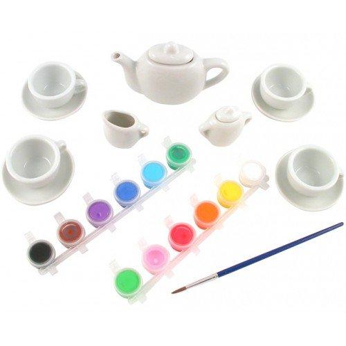 Set Ceramica: Picteaza Un Set De Ceai