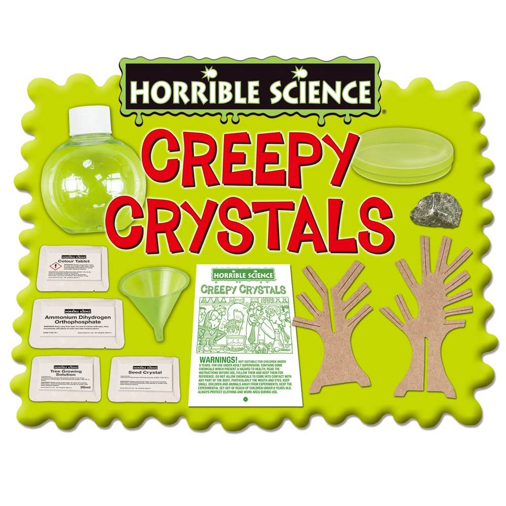 Horrible Science : Cristale Ciudate