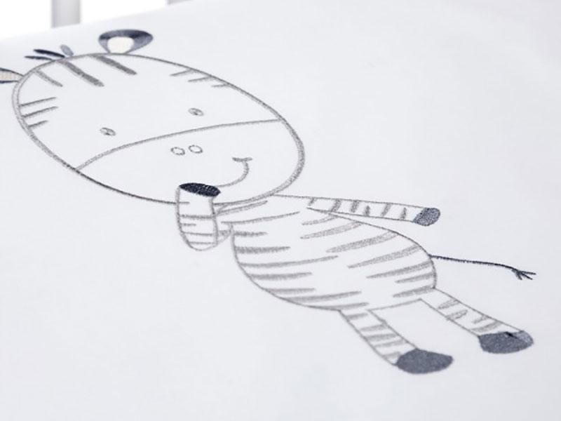 Lenjerie Patut Copii Klups Funny Zebra H196