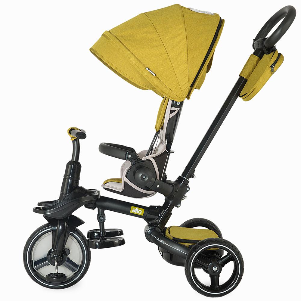 Tricicleta Coccolle Alto Multifunctionala Mustar