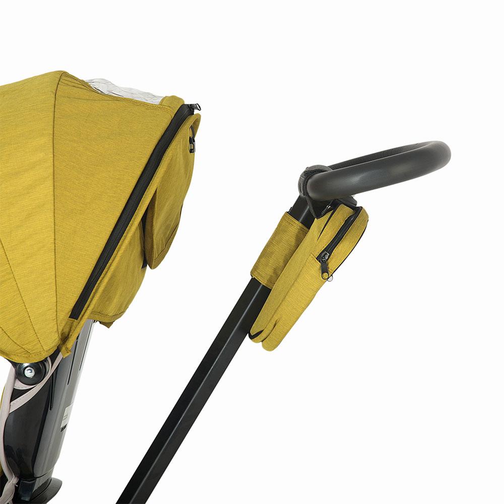 Tricicleta Coccolle Alto Multifunctionala Rosu