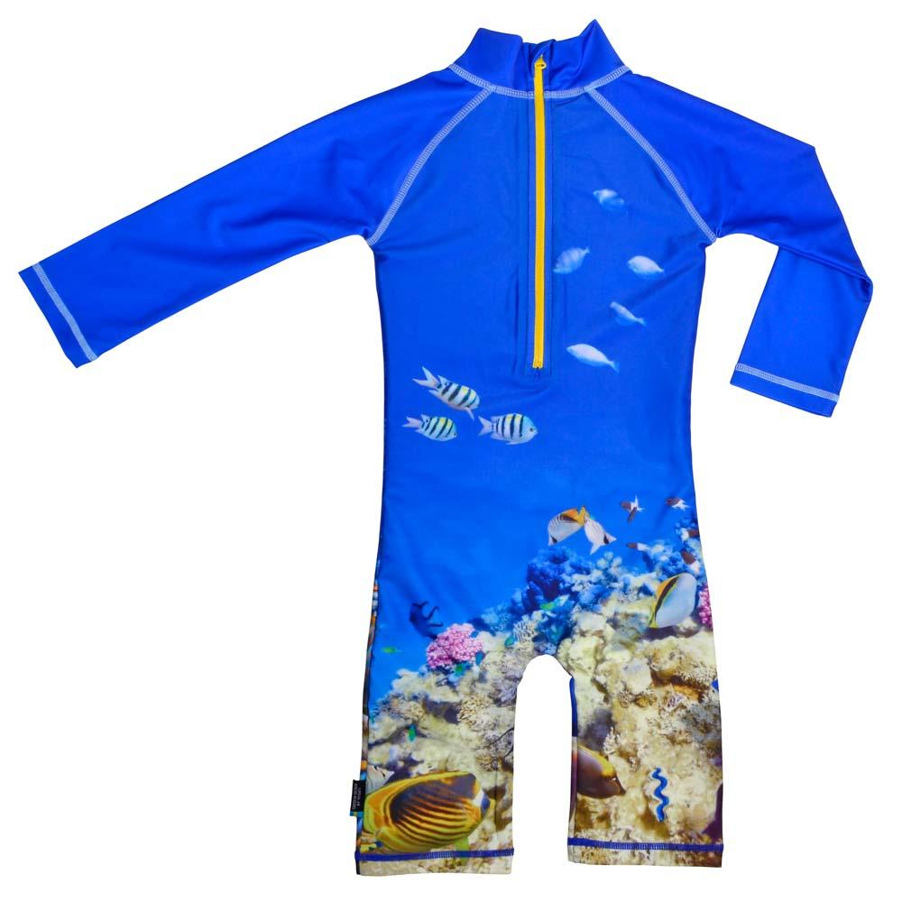 Costum De Baie Coral Reef Marime 86- 92 Protectie Uv Swimpy