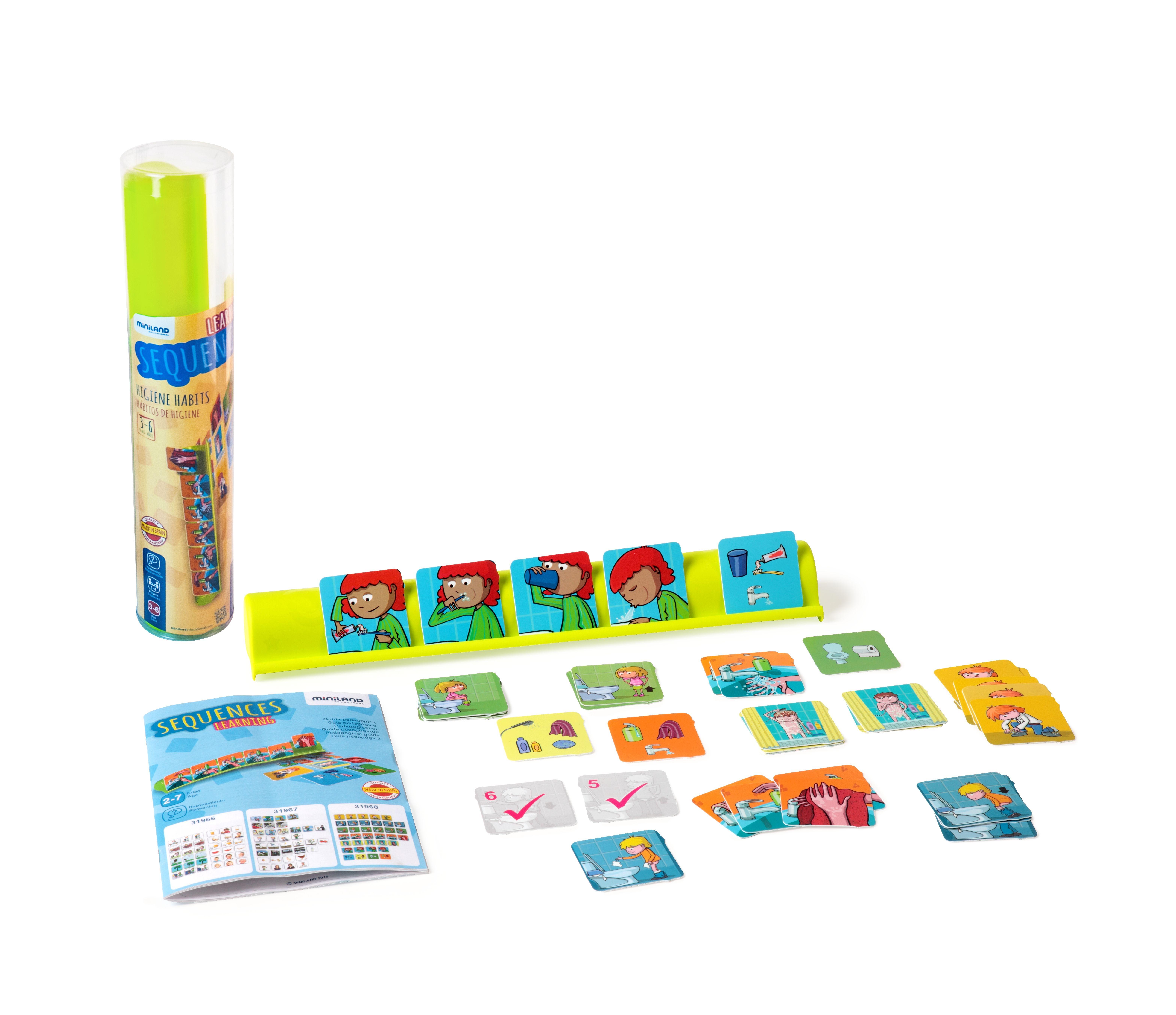 Joc Secvente Temporale - Igiena. Pentru 3-6 Ani - Miniland