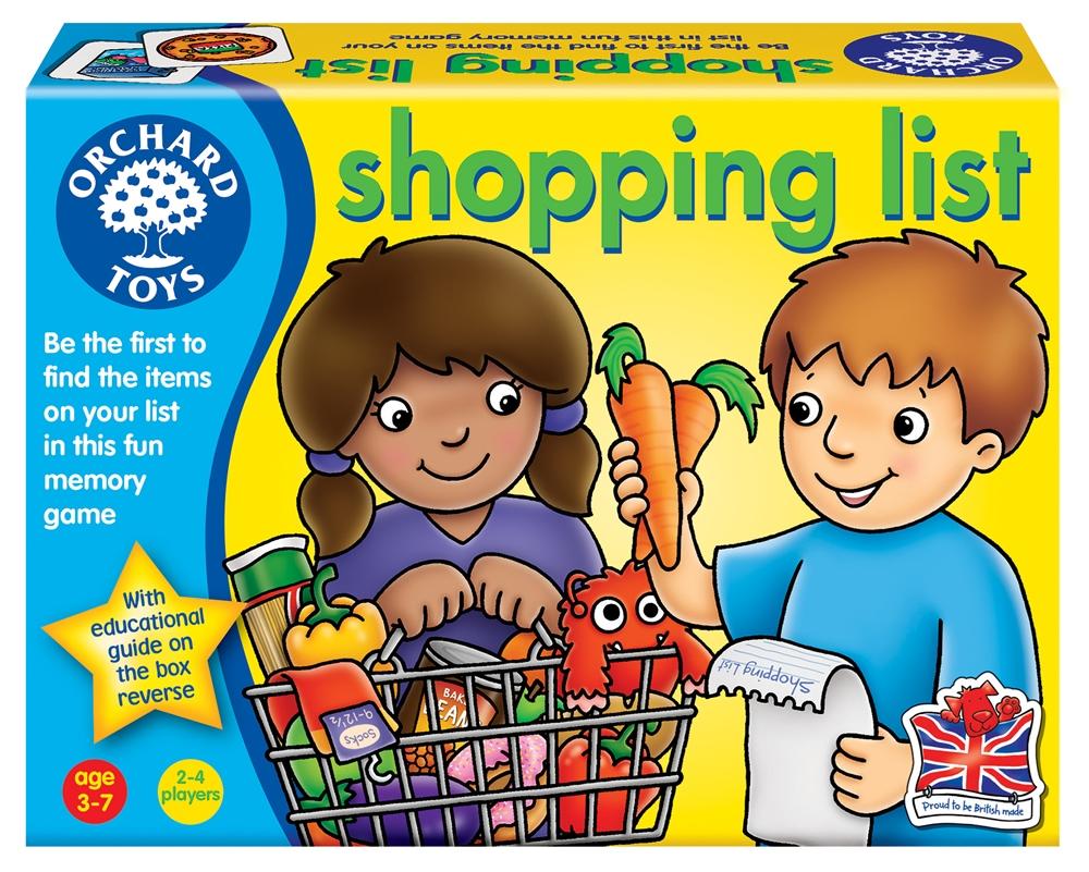 Joc Educativ In Limba Engleza Lista De Cumparaturi Shopping List