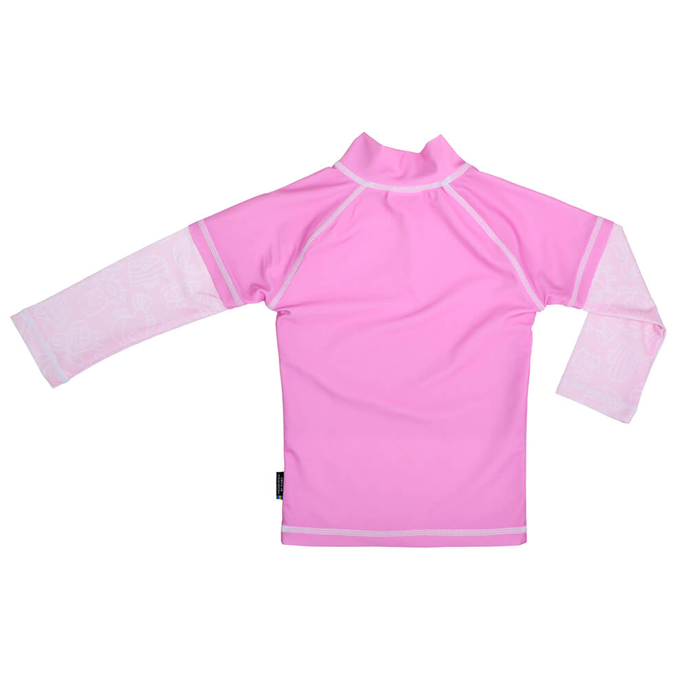 Tricou De Baie Pink Ocean Marime 86- 92 Protectie Uv Swimpy
