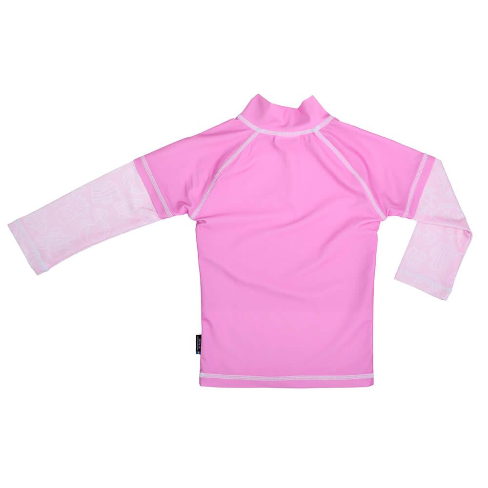 Tricou De Baie Pink Ocean Marime 98-104 Protectie Uv Swimpy imagine