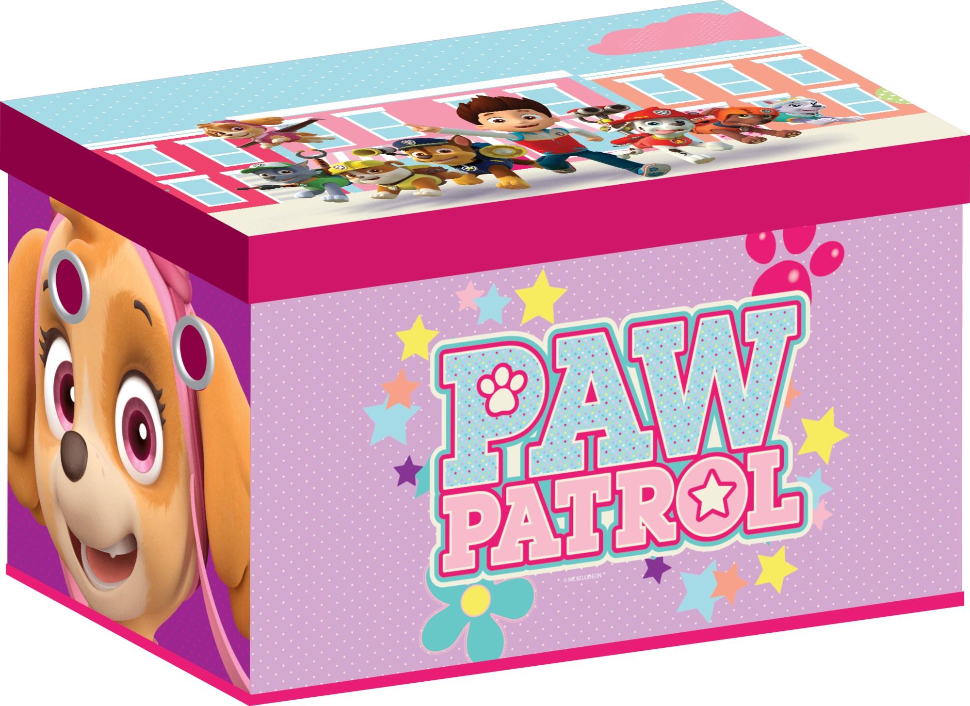 Cutie Pentru Depozitare Jucarii Paw Patrol Girl