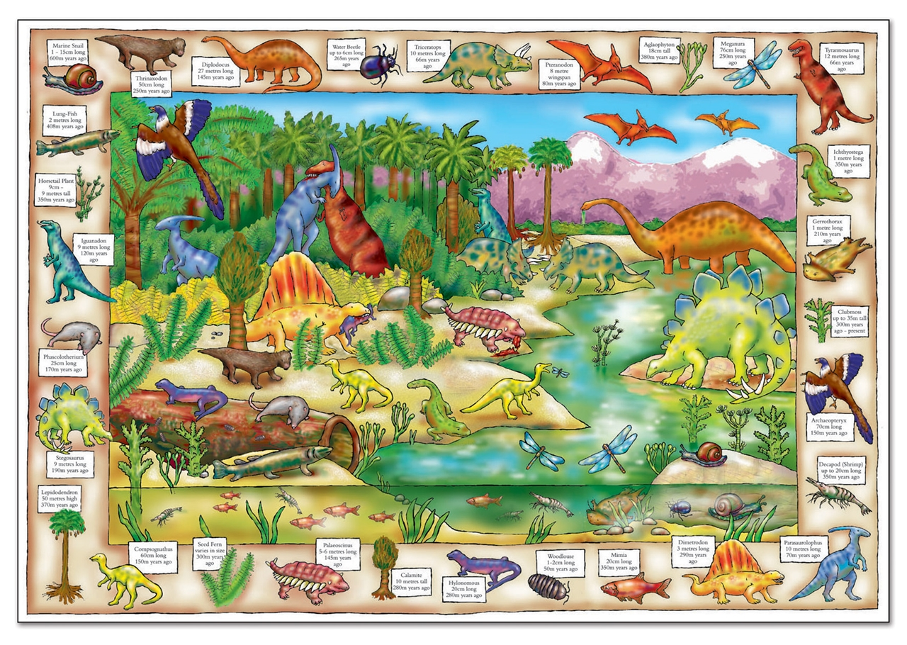 Puzzle In Limba Engleza Lumea Dinozaurilor (150 Piese) Dinosaur Discovery