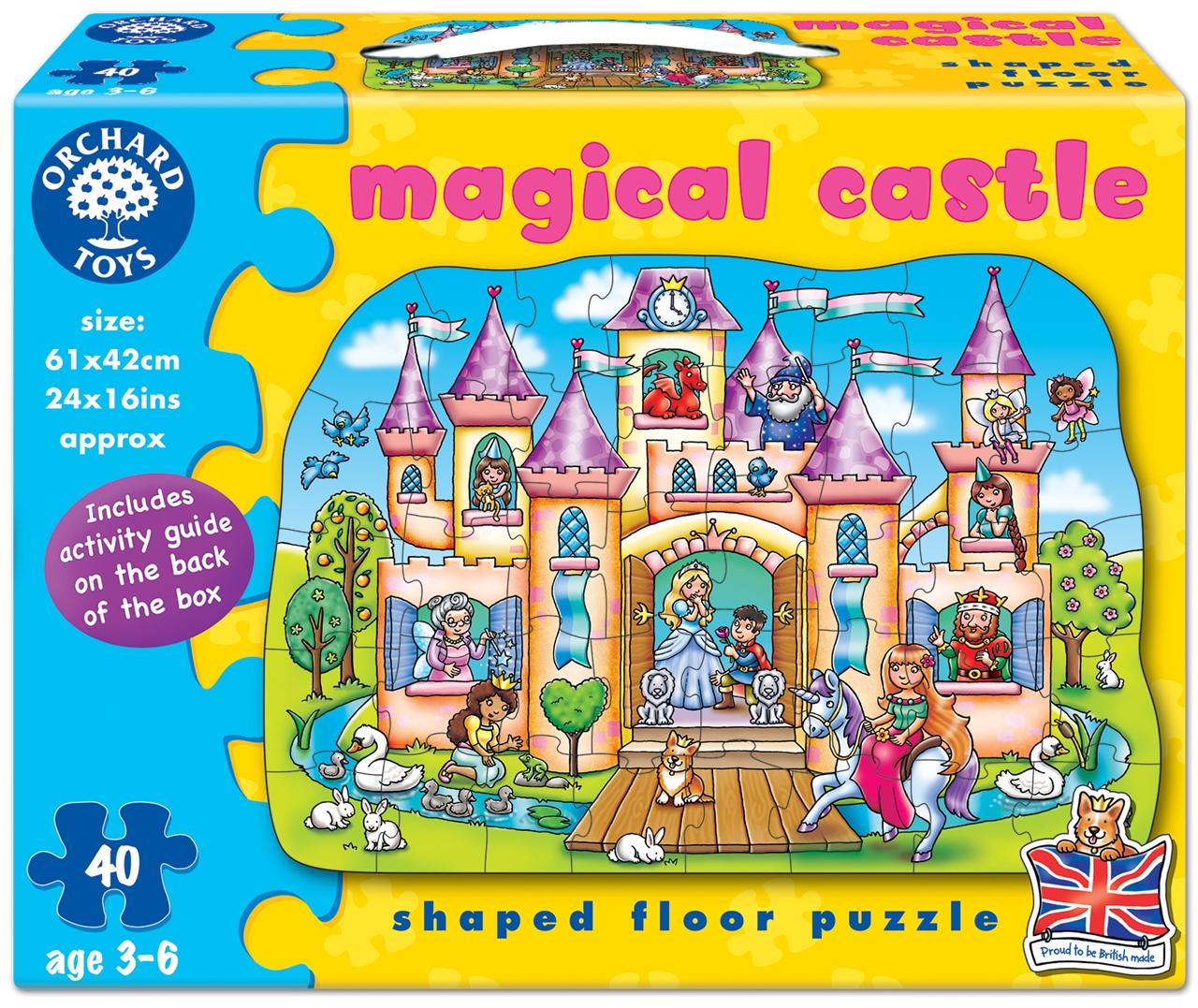 Puzzle De Podea Castelul Magic (40 Piese) Magical Castle imagine