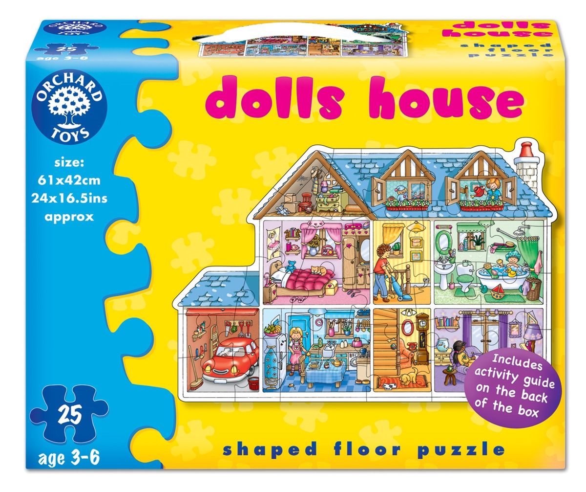 Puzzle De Podea Casa (25 Piese) Dolls House Jigsaw imagine