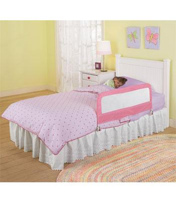 Summer Infant-12201-protectie Pliabila Pentru Pat Pink