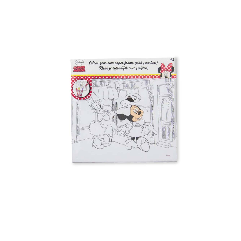 Tablou De Colorat Minnie Mouse
