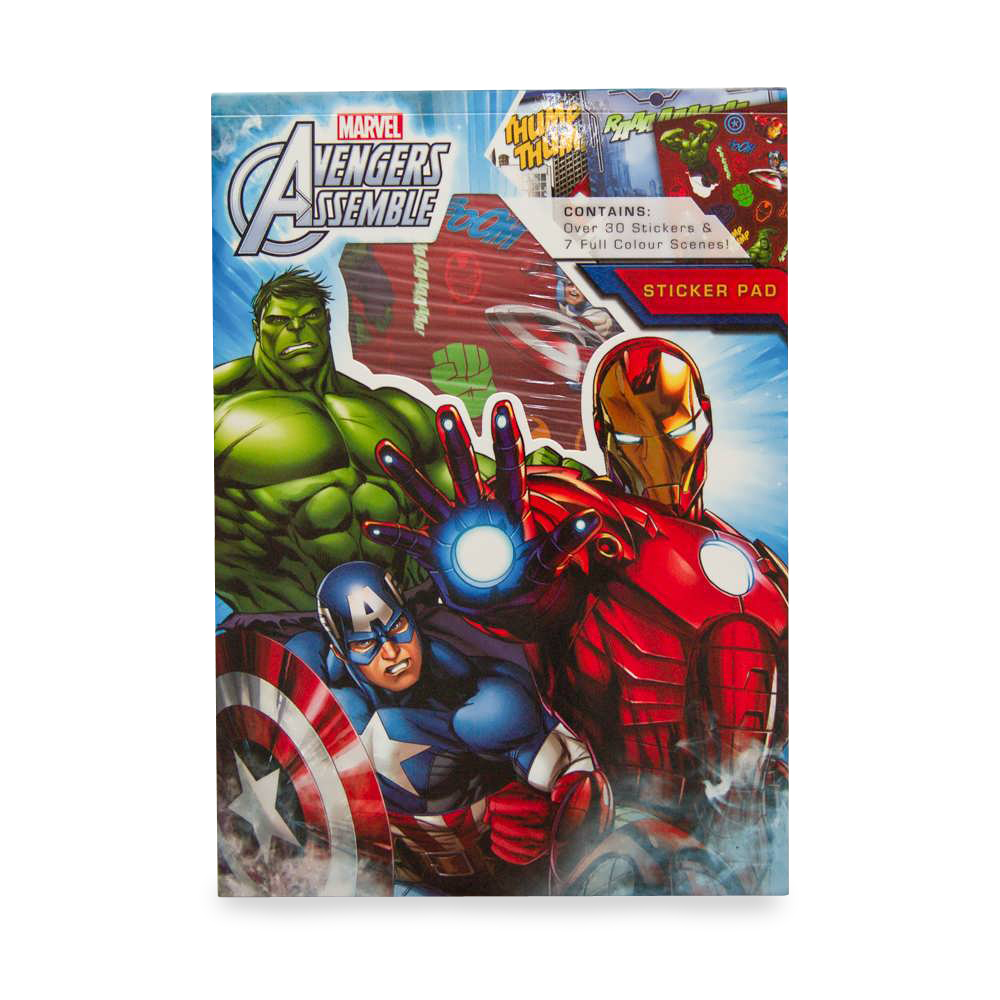 Sticker Pad Avengers