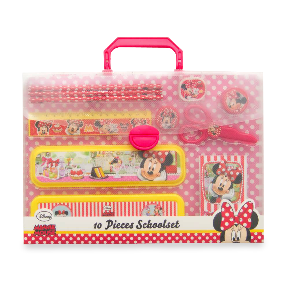 Set Scoala Minnie Mouse