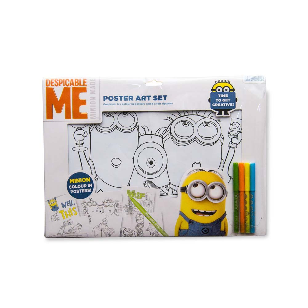 Set De Colorat Minions