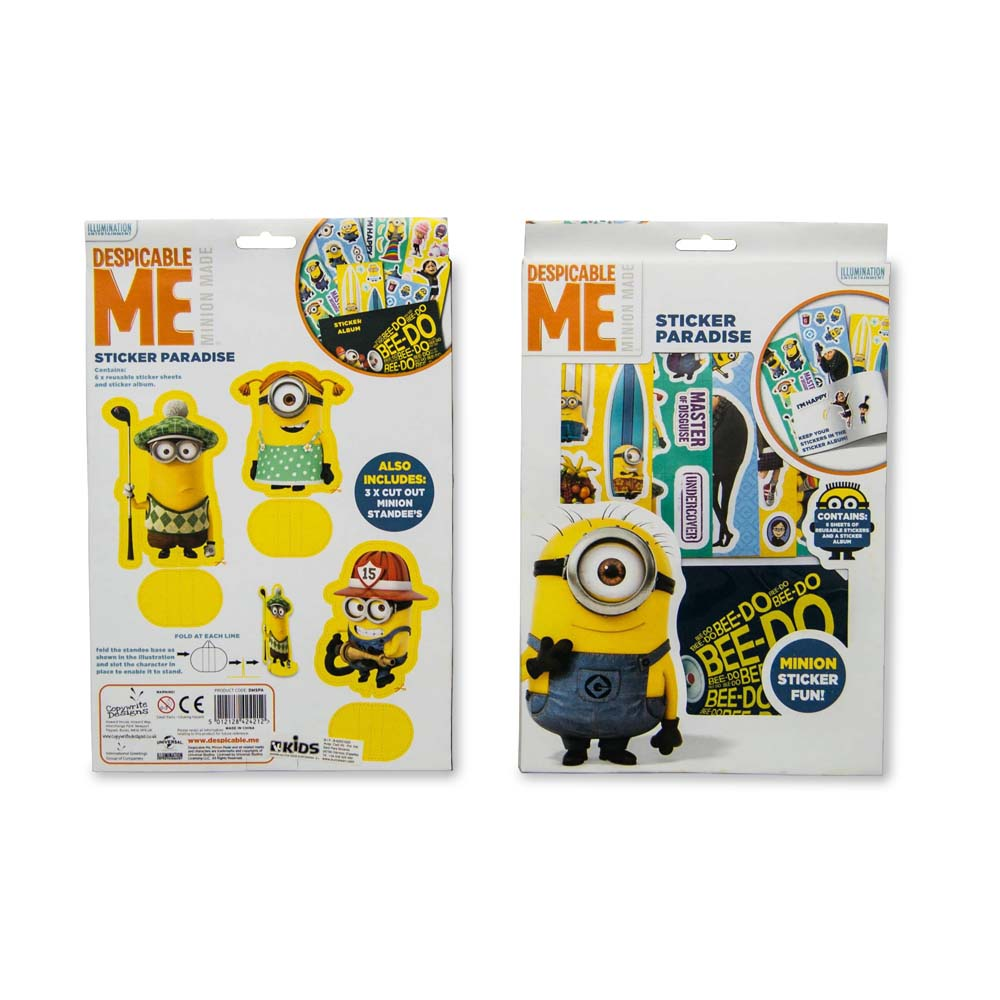 Set Sticker Minions