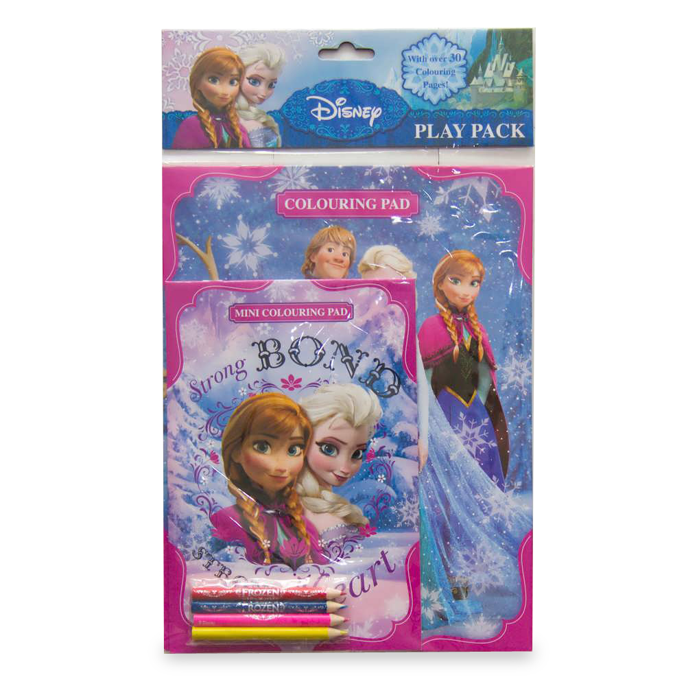 Carte De Colorat Disney Frozen
